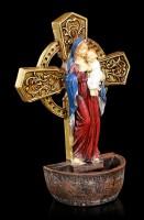 Weihwasserspender - Madonna mit Jesus Kind