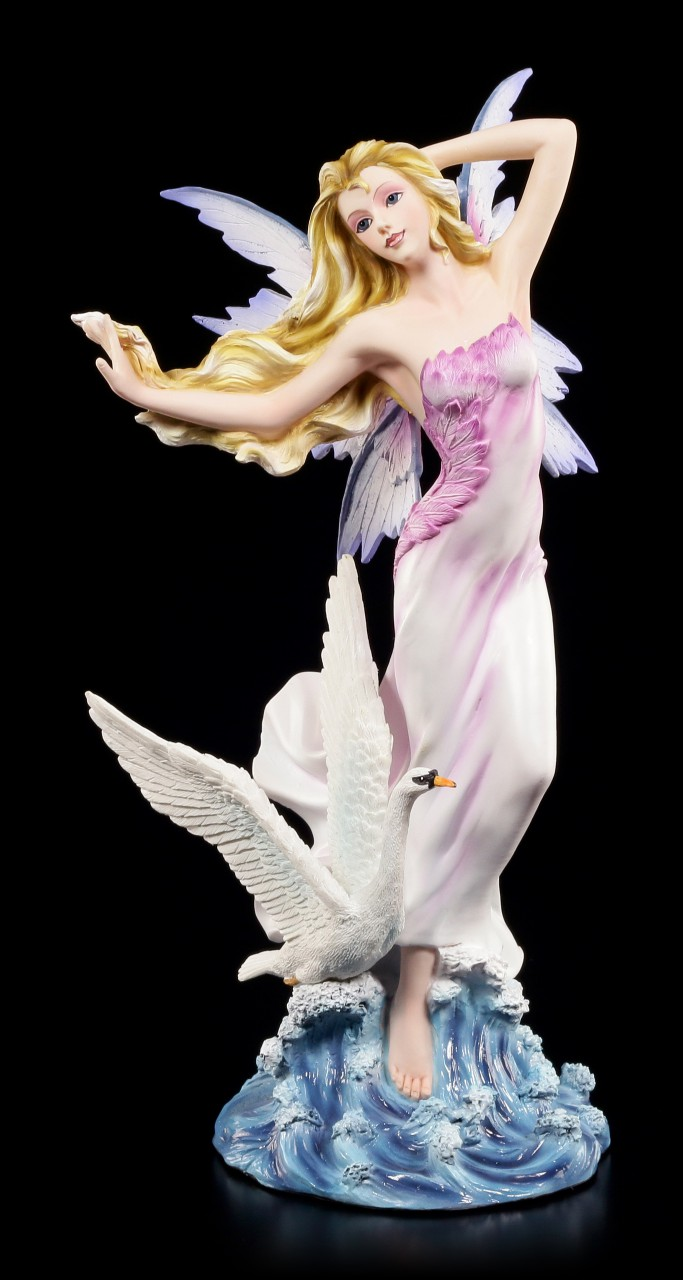 Fairy Figurine - Cignie with Swan