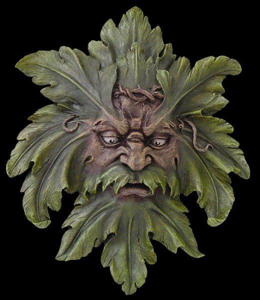 Wandrelief - Greenman