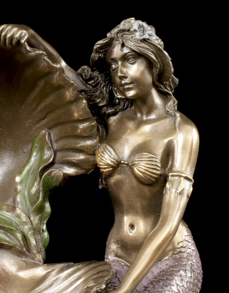 Art Nouveau Mermaid with Shell
