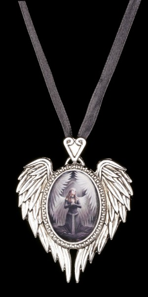 Prayer For The Fallen - Angel Cameo by Anne Stokes
