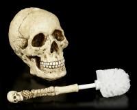 Totenkopf Toilettenbürste - Skull and Bones