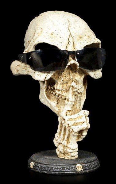 Brillenhalter - Skelett