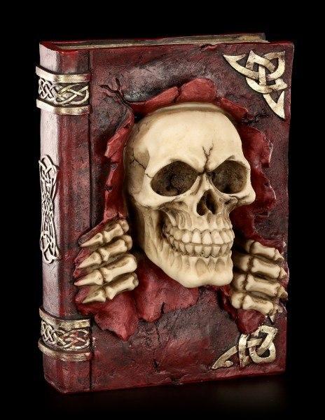 Sparkasse mit Totenkopf - Verbotenes Buch
