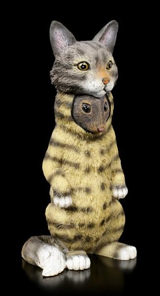 Dupers Figur - Maus im Katzenkostüm
