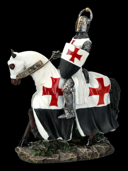 Crusader with Horse and Shield