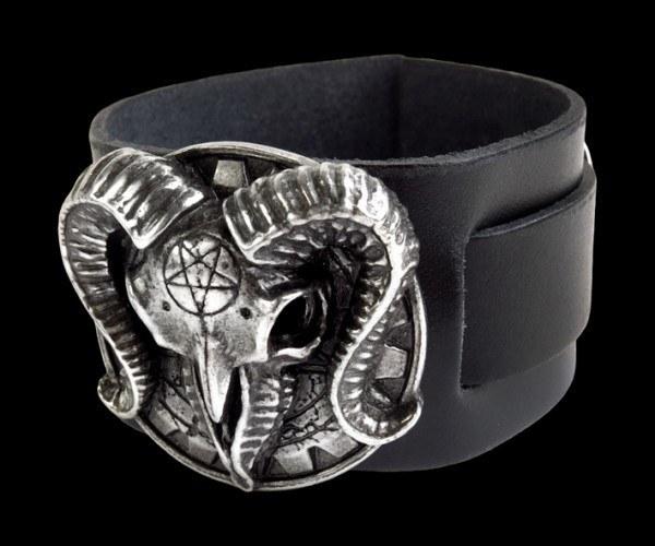 Alchemy Leder Armband - Gears Of Aiwass