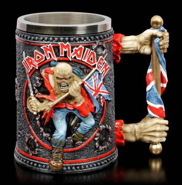 Iron Maiden Krug - Trooper