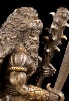 Herkules Figur mit Säbel und Keule