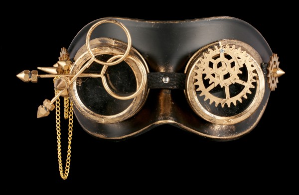 Steampunk Mask - Mechanical Oculus