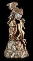 Prometheus Figurine - The Fire-Bringer with Eagle