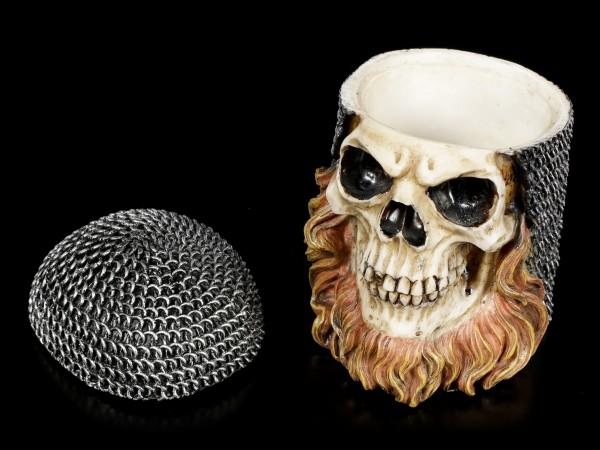 Chainmail Skull Box