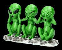 Alien Figur - Nichts Böses Marsmännchen