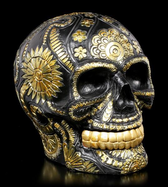 Skull - Black & Gold