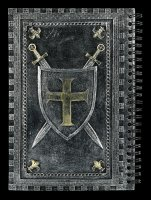 Journal - Crusader - silver colored