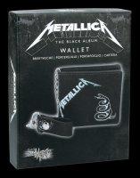 Metallica Wallet - Black Album