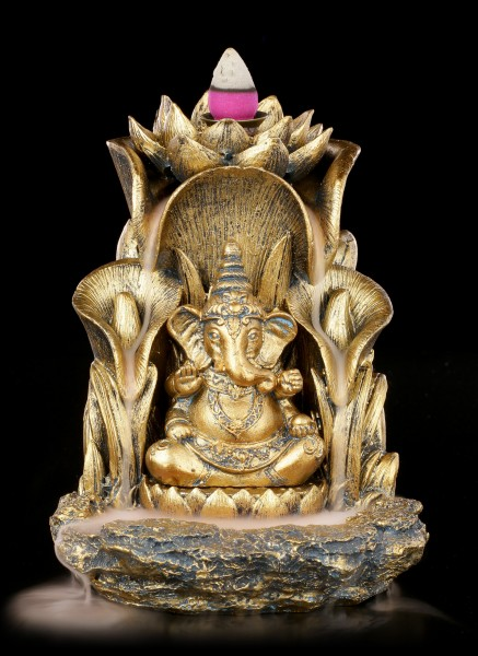 Backflow Incense Cone Holder Ganesha