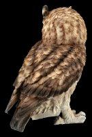 Brown Owl Figurine