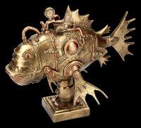 Steampunk Figurine - Perpetual Piranha