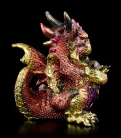 Drachen Figur - Red Ruby