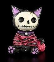 Furry Bones Figur - Black Mao-Mao