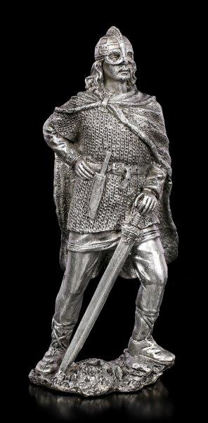 Zinn Wikinger Figur mit Schwert