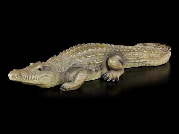 Gartenfigur - Krokodil groß