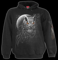 Wings Of Wisdom - Gothic Owl Hoody