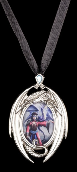 Look To The East - Dragon Cameo by Anne Stokes