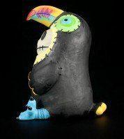 Toucan - Large Furry Bones Figurine