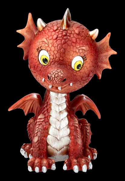 Bobble Head Figurine - Dragon Bobflame