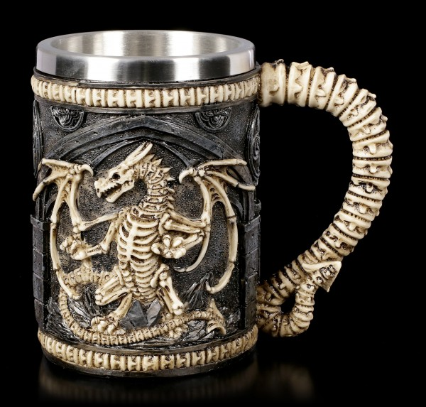 Skeleton Dragon Tankard
