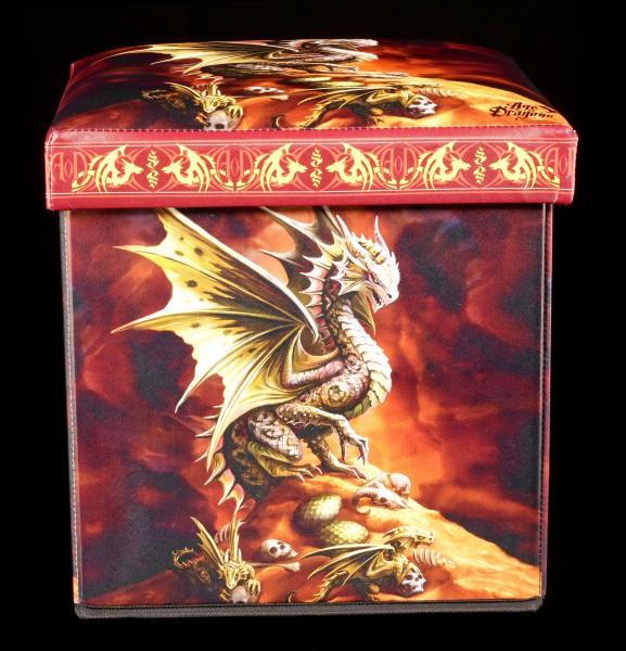 Aufbewahrungshocker Wüstendrache - Desert Dragon