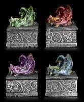 Drachen Schatullen 4er Set - Mein Geheimnis