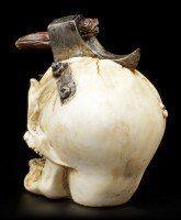 Skull with Hatchet