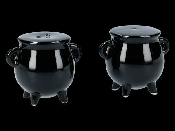Salt- and Pepper Shaker - Cauldron