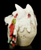 Skull with Wolf Fur - Spirit Hunter - large