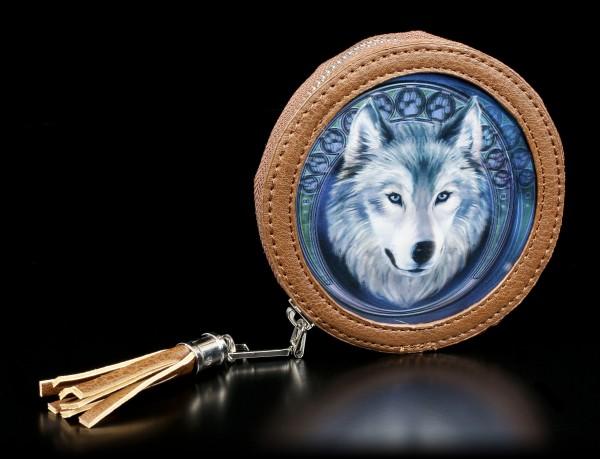 3D Münzgeldbörse - Lunar Wolf