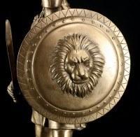 Alexander der Große Figur mit Schild