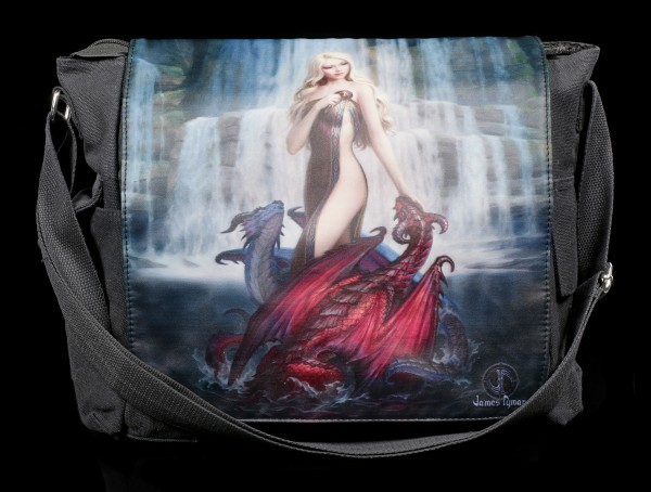 Messenger Bag - Dragon Bathers