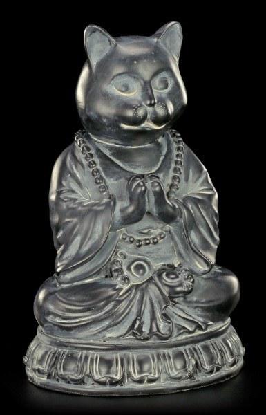 Buddha Figur - Meditierende Katze
