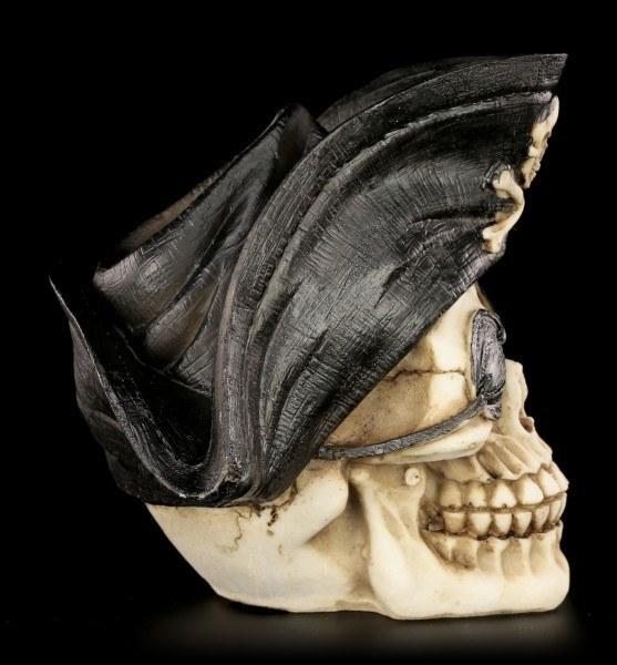Totenkopf - Pirat mit Augenklappe