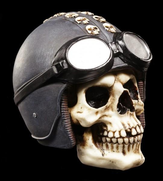 Skull with Helmet - Kerneval