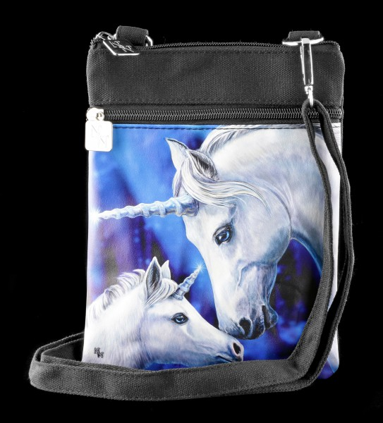 Small Shoulder Bag with Unicorns - Sacred Love
