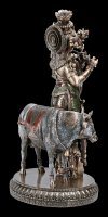 Krishna Figurine - Cowherd with Flute