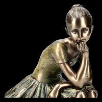 Ballerina Figurine - L'Attente on Stool