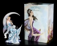 Fairy Figurine with Cat - Wind Moon by Nene Thomas