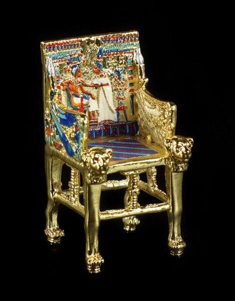 Thron des Tutanchamun - Miniatur
