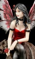 Elfen Figur mit Gargoyle - Awaiting Love