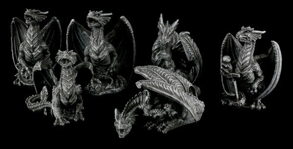 Small Dragons - Set of 6